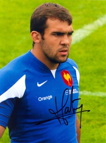 David Marty, France,  USA Perpignan, signed 8x6 inch photo.